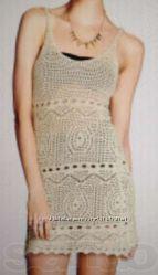 Пляжное вязаное платье H&M