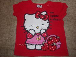 Симпатичные футболочки Hello Kitty. WANEX