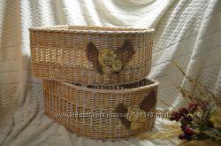 Плетеные корзины по индивидуальным размерам