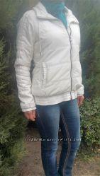 Куртка белая спортивная ADIDAS на синтепоне