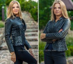 Стильный Утепленный пиджак - Размеры 42-44, 44-46