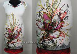 Красивое платье со стразиками больших размеров - Размеры с 48 по 54