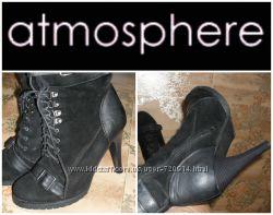 Ботинки  фирменные Atmosphere 39-40р