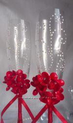 Свадебные бокалы Страсть