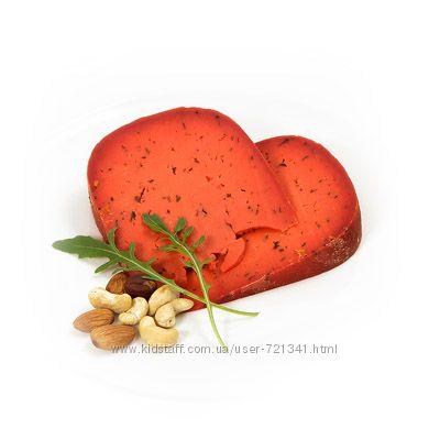 Сыр Базирон красный Песто режем Бесплатная пересылка НП от 1200 грн