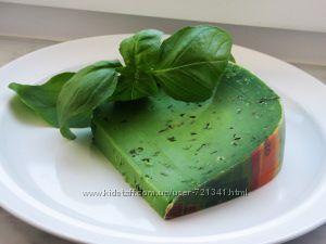 Сыр Базирон зеленый Песто режем Бесплатная пересылка НП от 1200 грн