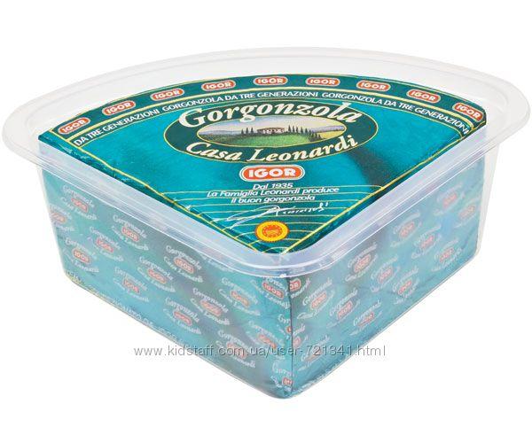 Сыр Горгонзола IGOR дольче Италия Бесплатная пересылка НП от 1200 грн