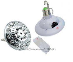 Светодиодная лампа с аккумулятором YD-678 и пультом ДУ