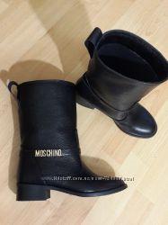 Ботинки Moschino 2016 все цвета осень-зима