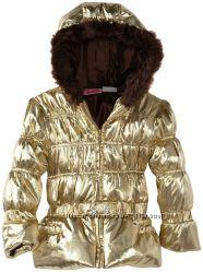 Дешево Демісезонна Золота Куртка  Young Hearts