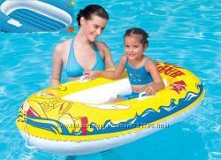 Надувная лодочка лодка Рак надувное дно, прочные ручки, буксировочный