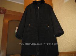 Женское теплое пальто Sure мех отстегиваеться