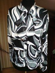 Симпатичная деловая блузка