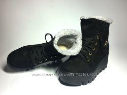 Ботинки Натуральный Нубук Зима в наличии