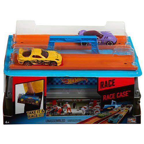 Hot Wheels Race Case Track Set оригинал