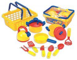 Игровой набор Pots N Pans посудка, корзинка пик-ник