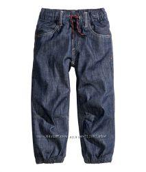 H&M  лёгкие джинсы для мальчиков