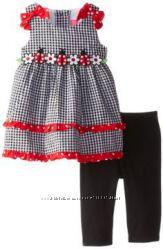 Симпатичный набор Сарафан и штанишки от SOPHIE ROSE возраст от 2 до 4 лет