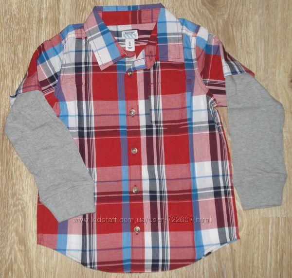 Рубашка для мальчика от фирмы Old Navy