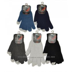 Перчатки сенсорные подростковые мужские женские