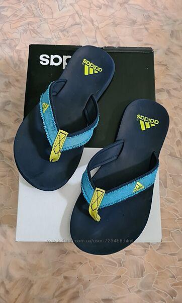 Шлепанцы,  вьетнамки adidas 34 размер