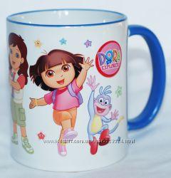 Чашка Даша, Башмачок, Диего и Алиса