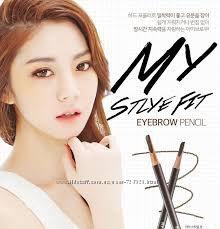 Устойчивый карандаш для бровей Secret Key My Style Fit Eyebrow Pencil