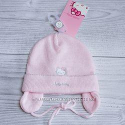 Нежные, красивые шапочки для девочек C&A, Hello Kitty