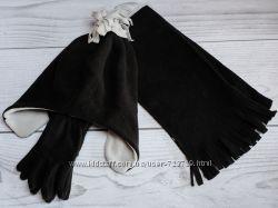 Комплект на мальчика. Шапка, шарф, перчатки С&A