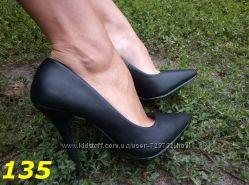 туфли лодочки черные бежевые коричневые Польша