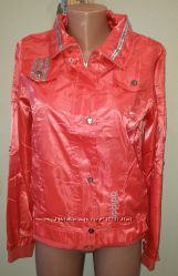 Куртка ветровка Adidas коралл