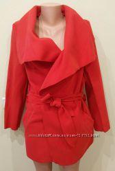 Пальто кардиган на запах цвет размеры 38-52