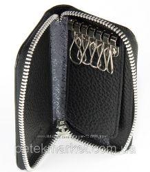 Дорогие качественные кожаные ключницы-футляры для ключей Petek, Турция.