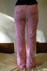 Штаны модный клешь розовый вельвет Aeropostale Америка