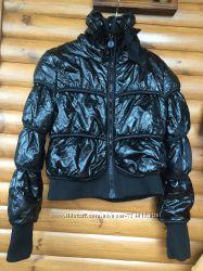 Куртка на синтапоне под шлифованную кожу осенняя