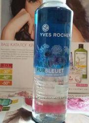Экспресс-средство для снятия макияжа с глаз pur bleuet yves rocher 200 ml