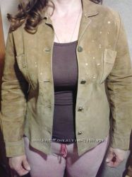 замшевая курточка-рубашка