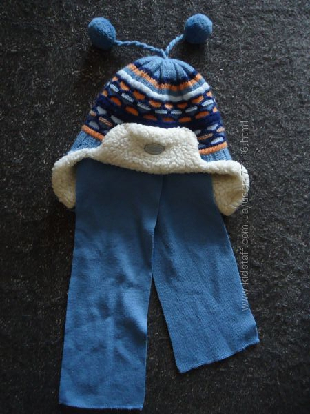 Комплект зимний шапка и шарф Grans Польша