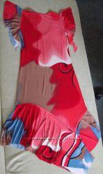 Сочное яркое летнее платье