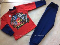 Теплые пижамы Нинзяго 92-116