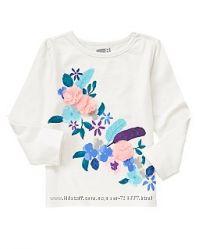 Регланы, футболки, топы для девочек из Америки