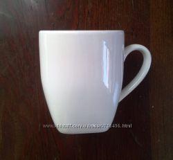 Белые керамические чашки 220 и 250мл