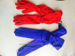 Красивые длинные перчатки
