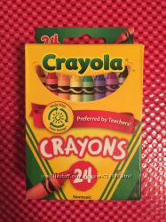Восковые мелки Crayola 24шт. Подарки на новогодние праздники