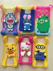 Универсальные чехлы накладки для разных телефонов