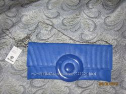 Продам синий клатч новый