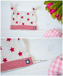 Плотные котонновые шапочки разных цветов Mothercare Англия