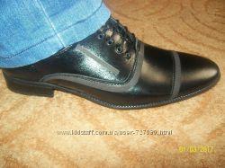 Туфли мужские новые из натуральной кожи.