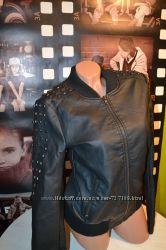 Куртка под резинку эко-кожа Only 1 раз одета