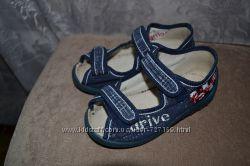 Waldi фирменные льняные сандалии носили мало